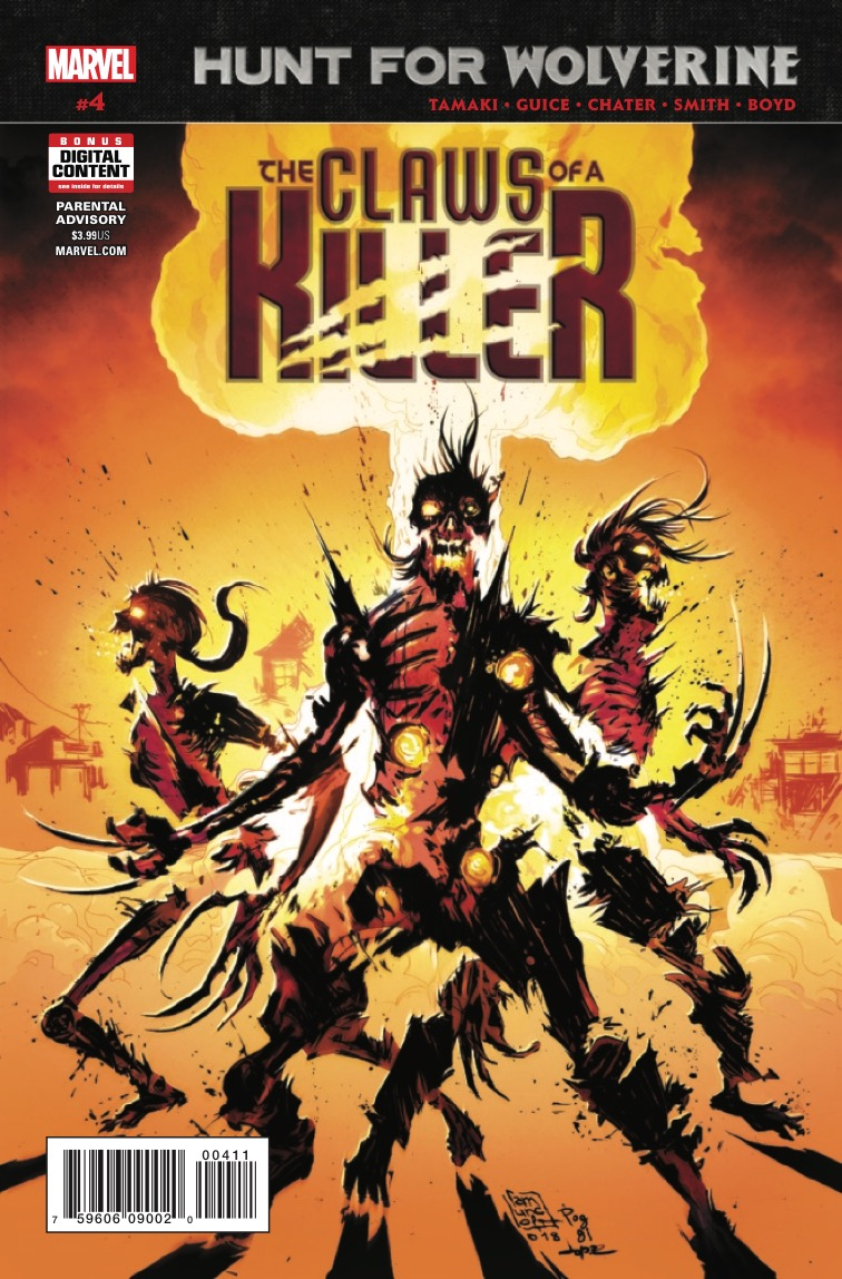 Hunt For Wolverine: Claws of a Killer #4 Review