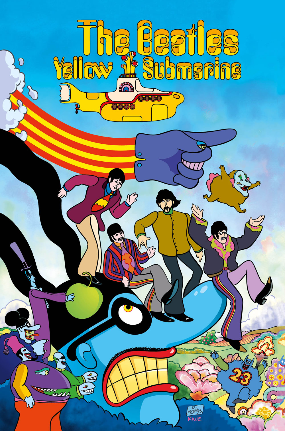 In honor of the film and album's 50th anniversary, take a ride in a lovingly refurbished yellow submarine.