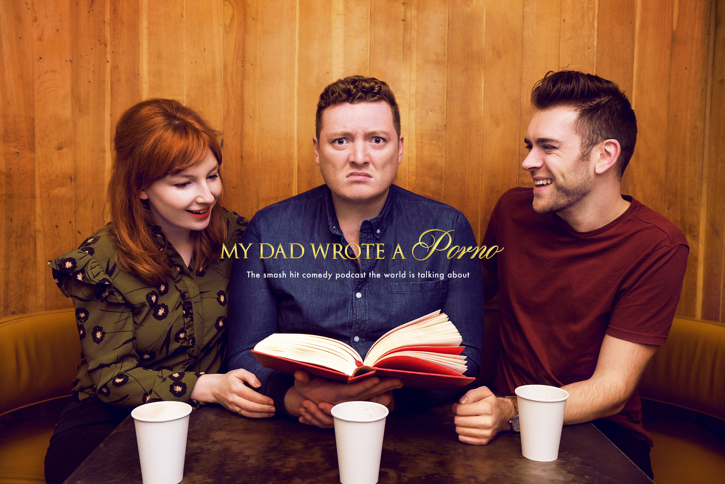 Hit podcast 'My Dad Wrote a Porno' getting comedy special treatment at HBO