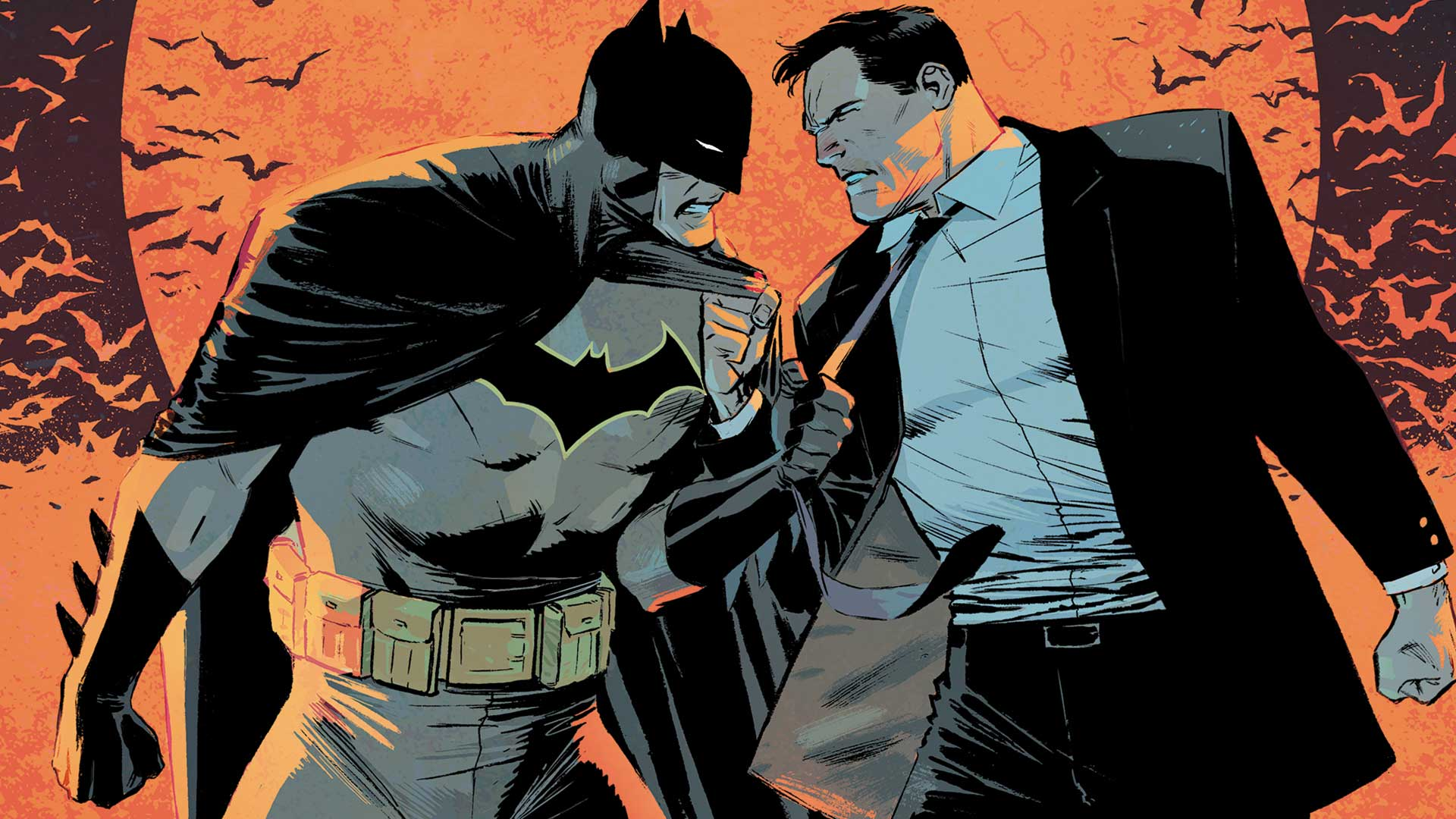 """""""You're saying Batman is not the hero we... Gotham thinks he is?"""""""