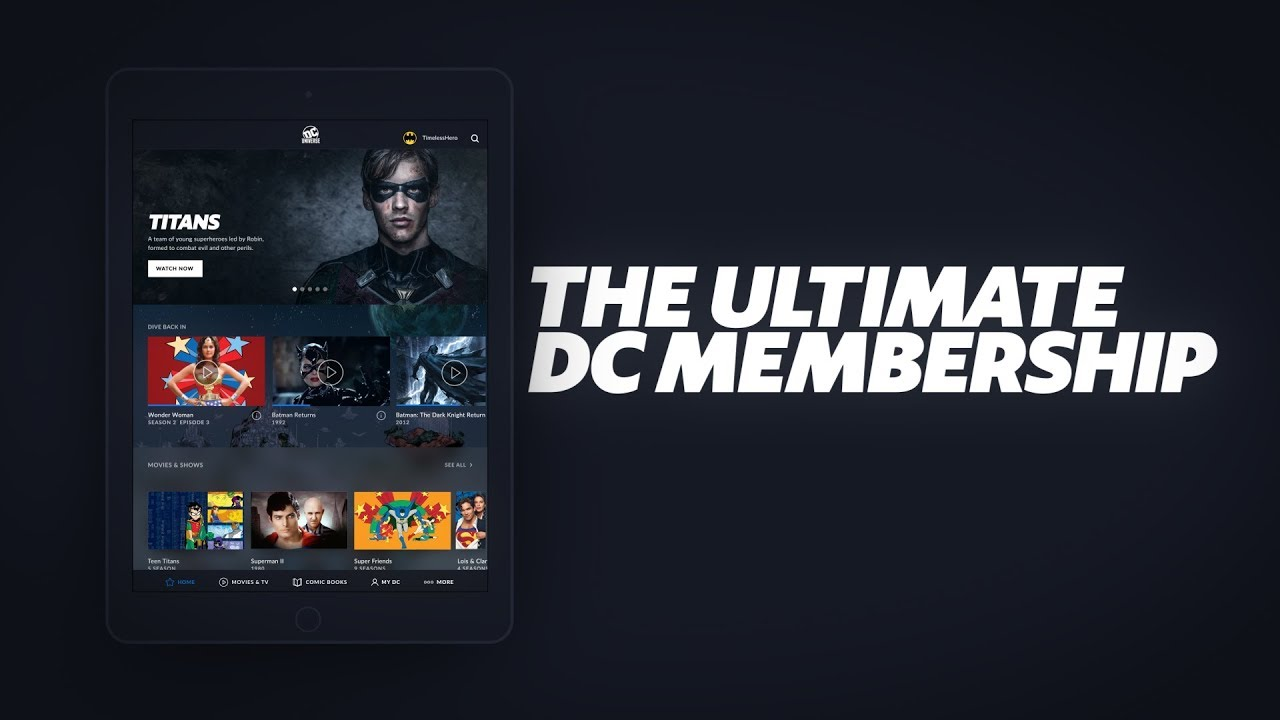 WonderCon 2019: DC Universe Expands Digital Comics Library to 20,000