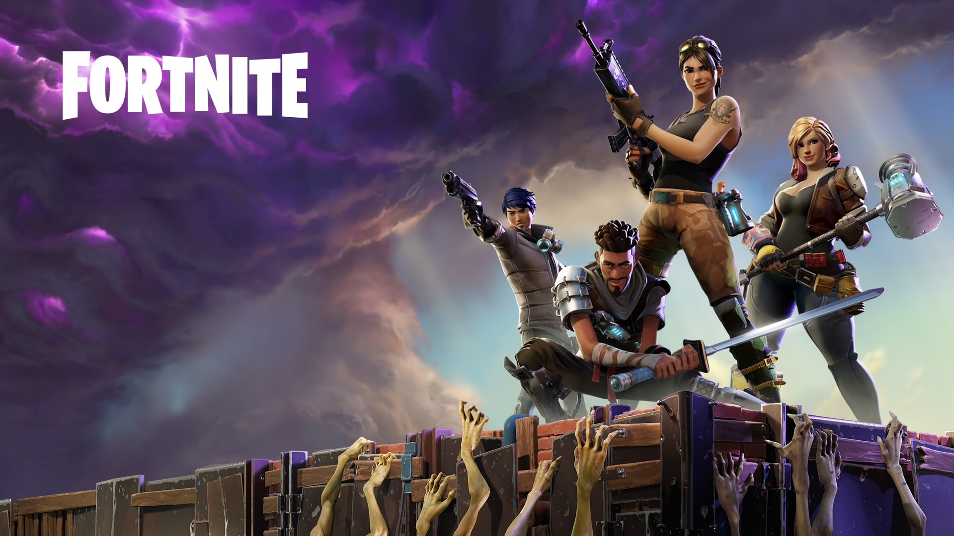 'Fortnite Year One in 6 minutes' video remembers the early days of Fortnite