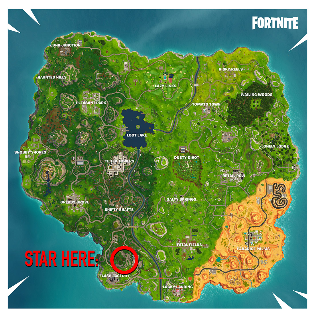 Search between three oversized seats: How to complete Fortnite's week 8 challenge