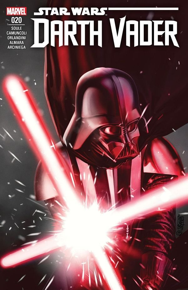 Darth Vader must smite out any opportunity of goodness around him.