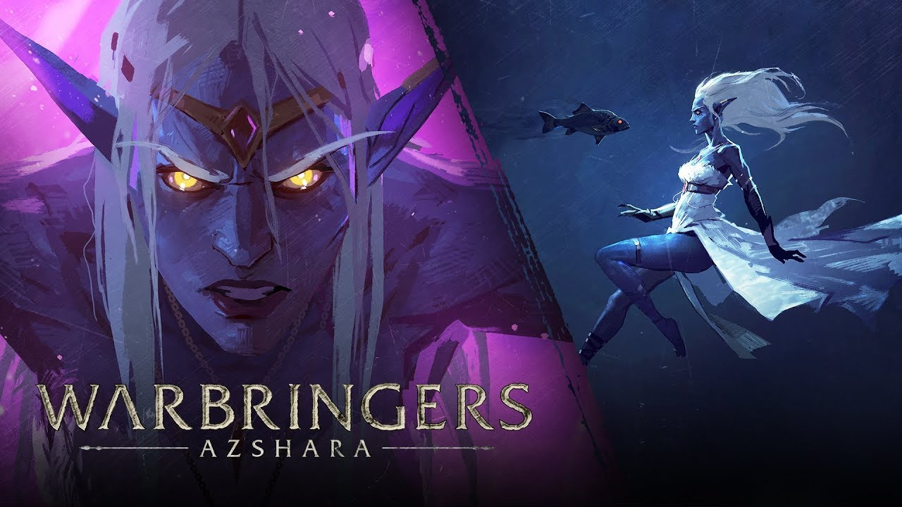World of Warcraft: Watch the 'Warbringers: Azshara' video released at Gamescom 2018