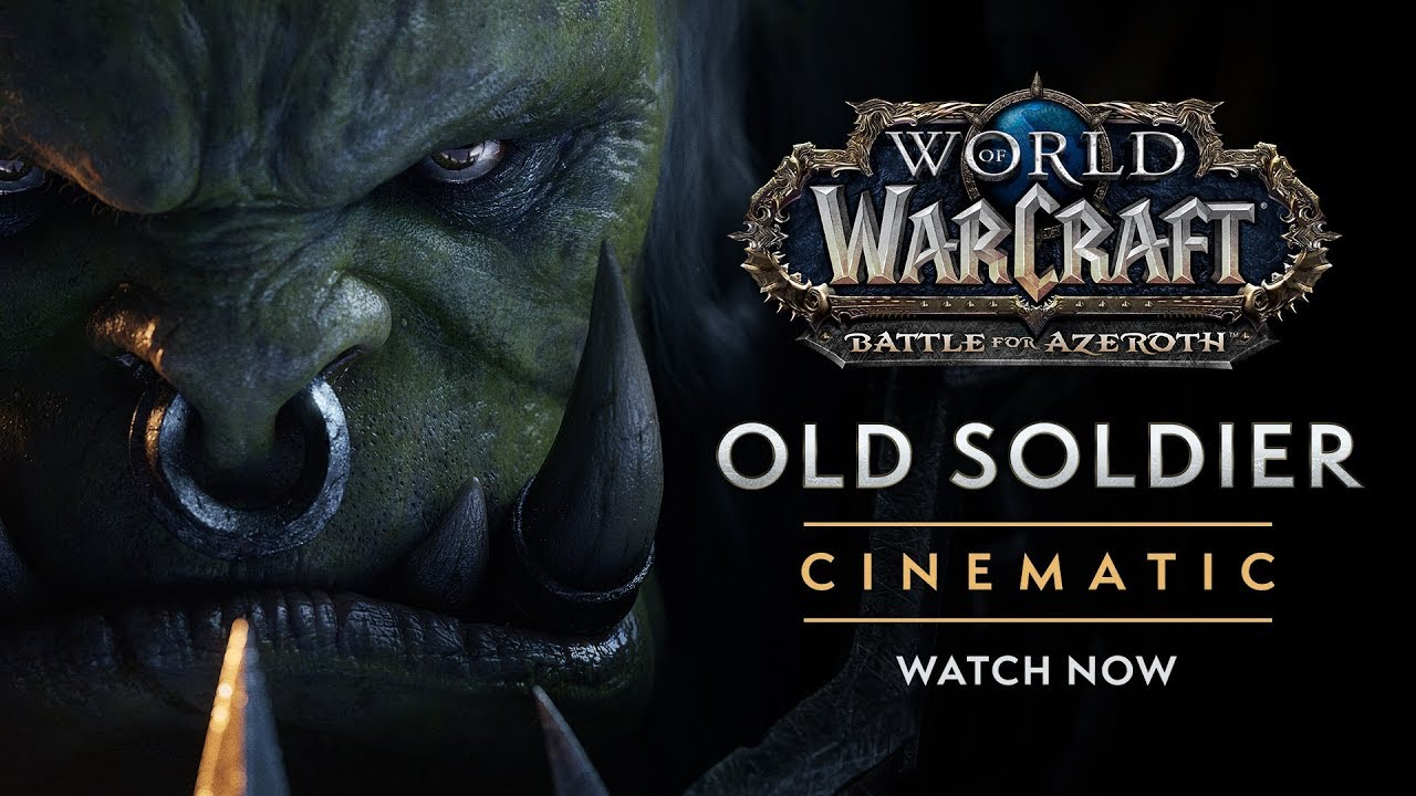 """World of Warcraft: Overlord Saurfang reflects on the horrors of war in new cinematic, """"Old Soldier"""""""