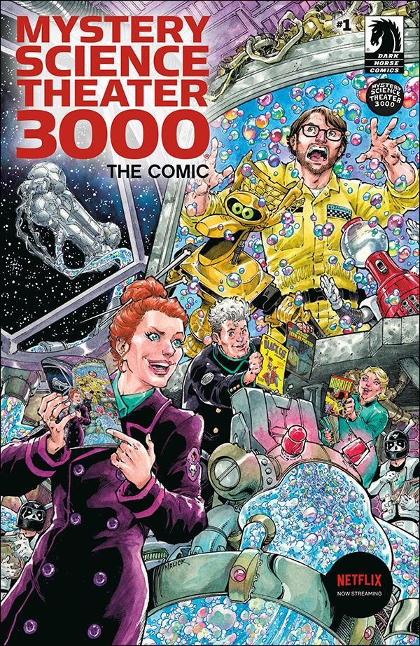 Mystery Science Theater 3000 #1 advance review: A retro take on a tried and true format
