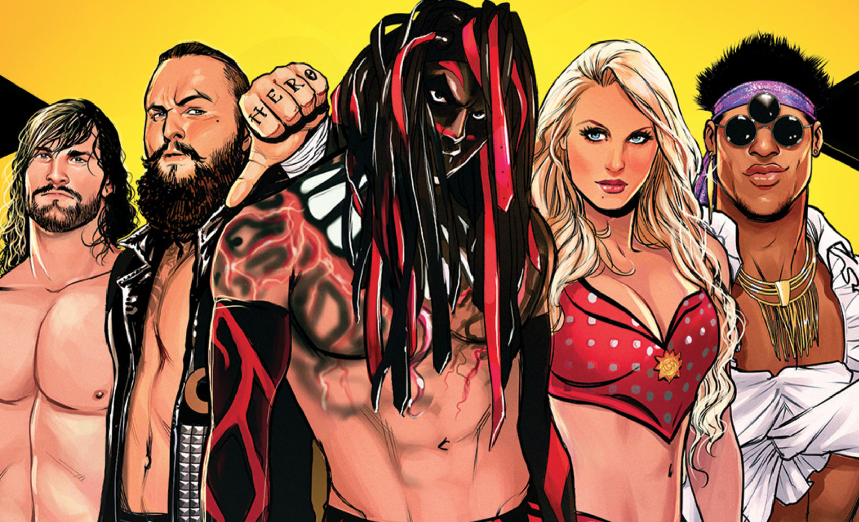 First Look: WWE and BOOM! Studios' NXT TakeOver comic book event