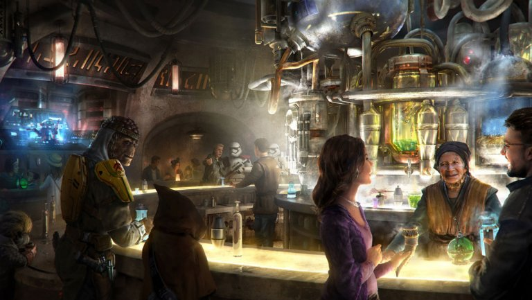 Disney's upcoming Star Wars land will serve alcohol in its cantinas