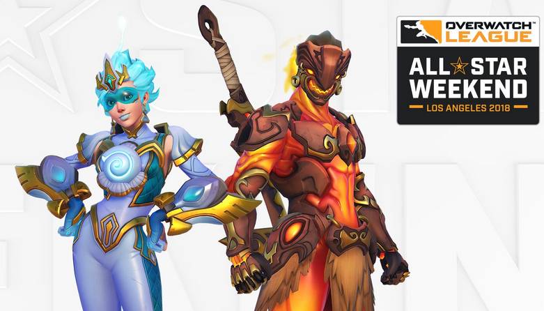 Legendary All-Star Tracer and Genji skins reduced to 200 Overwatch League Tokens each.