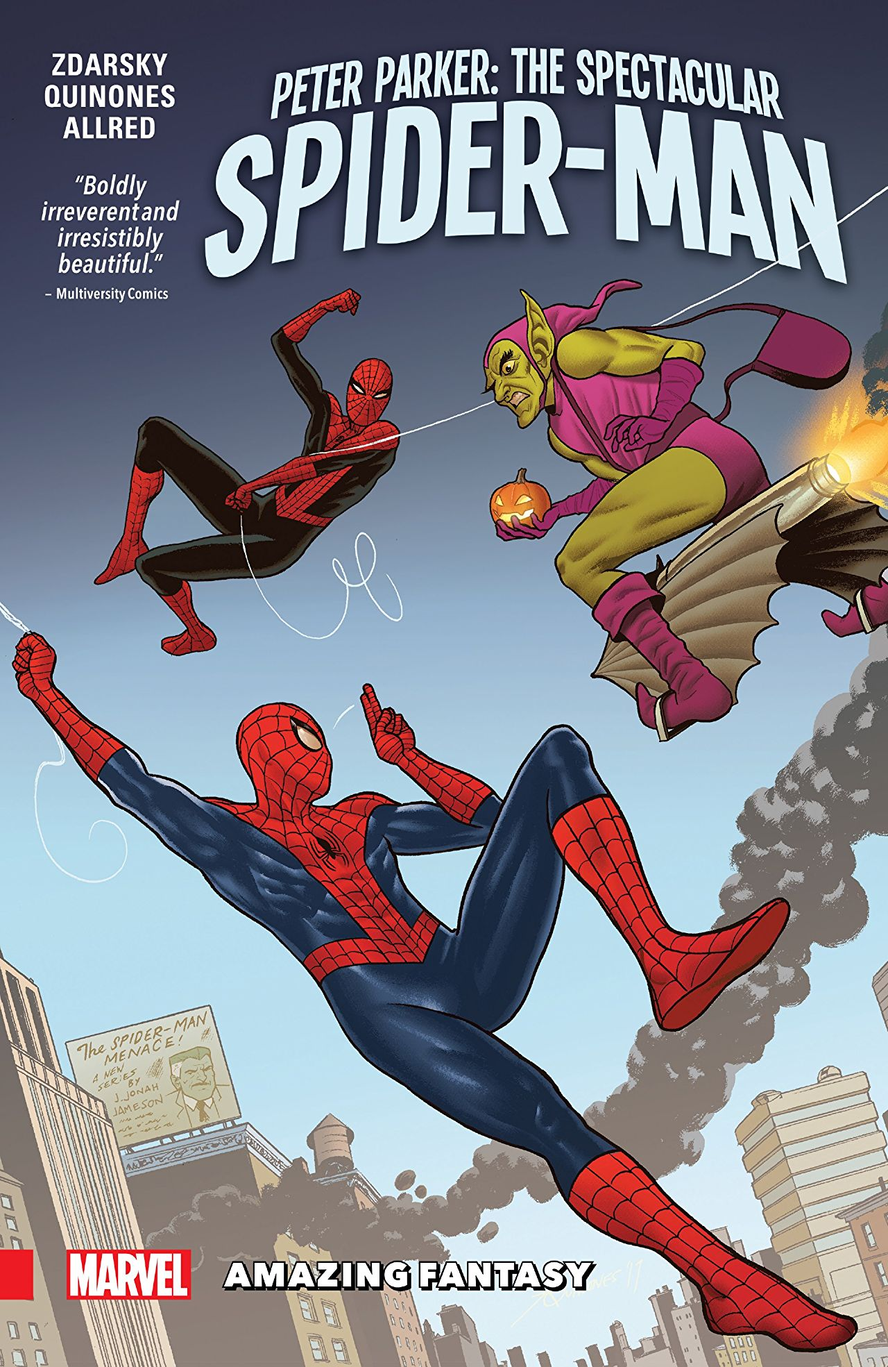 'Peter Parker: The Spectacular Spider-Man Vol. 3: Amazing Fantasy' review: Gotta go back in time