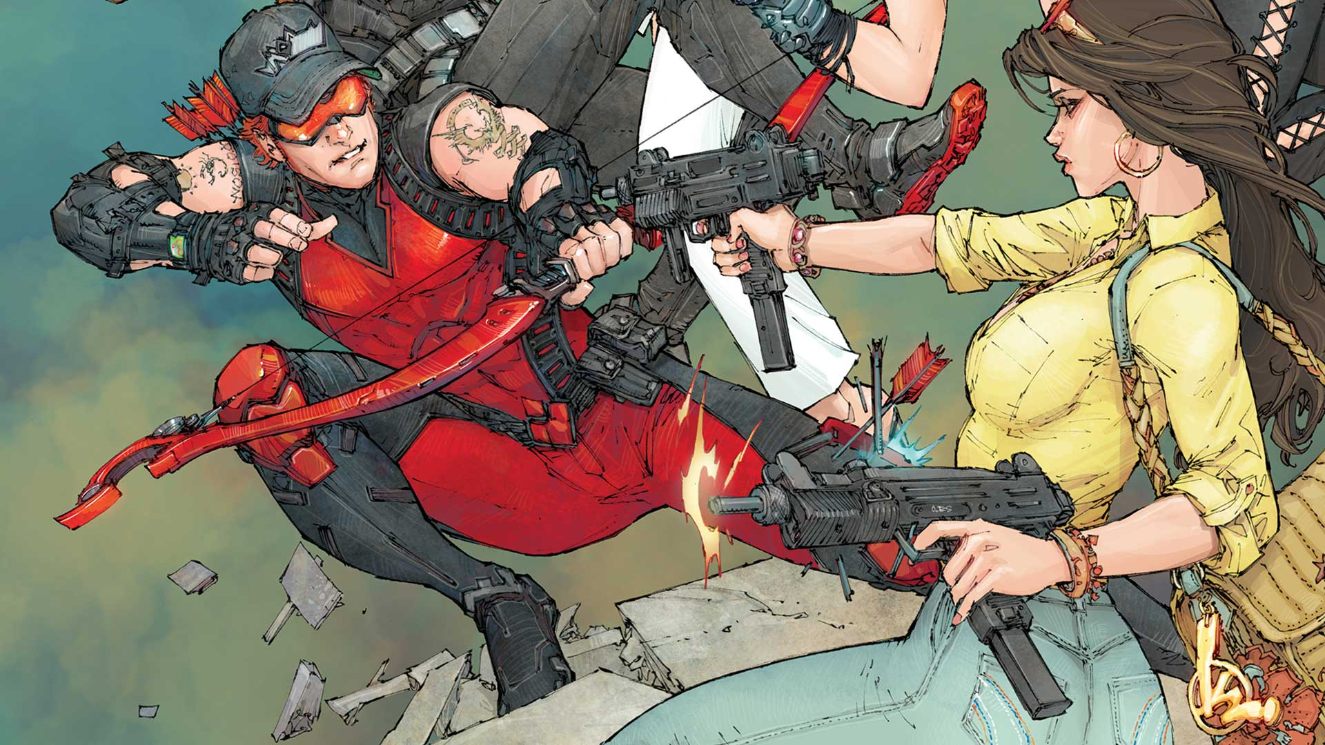 Red Hood and the Outlaws Annual #2 (2018) review: A bromantic yet heartfelt New 52 reunion