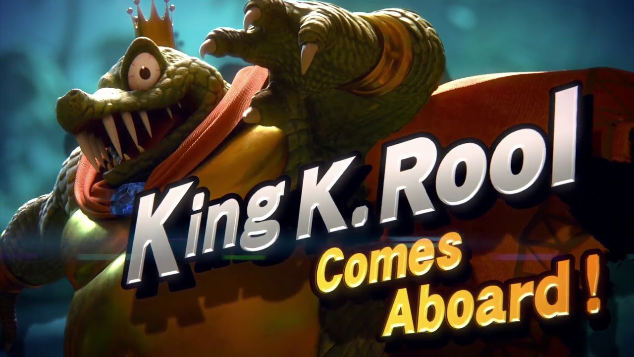 King K. Rool announced as new 'Super Smash Bros. Ultimate' character