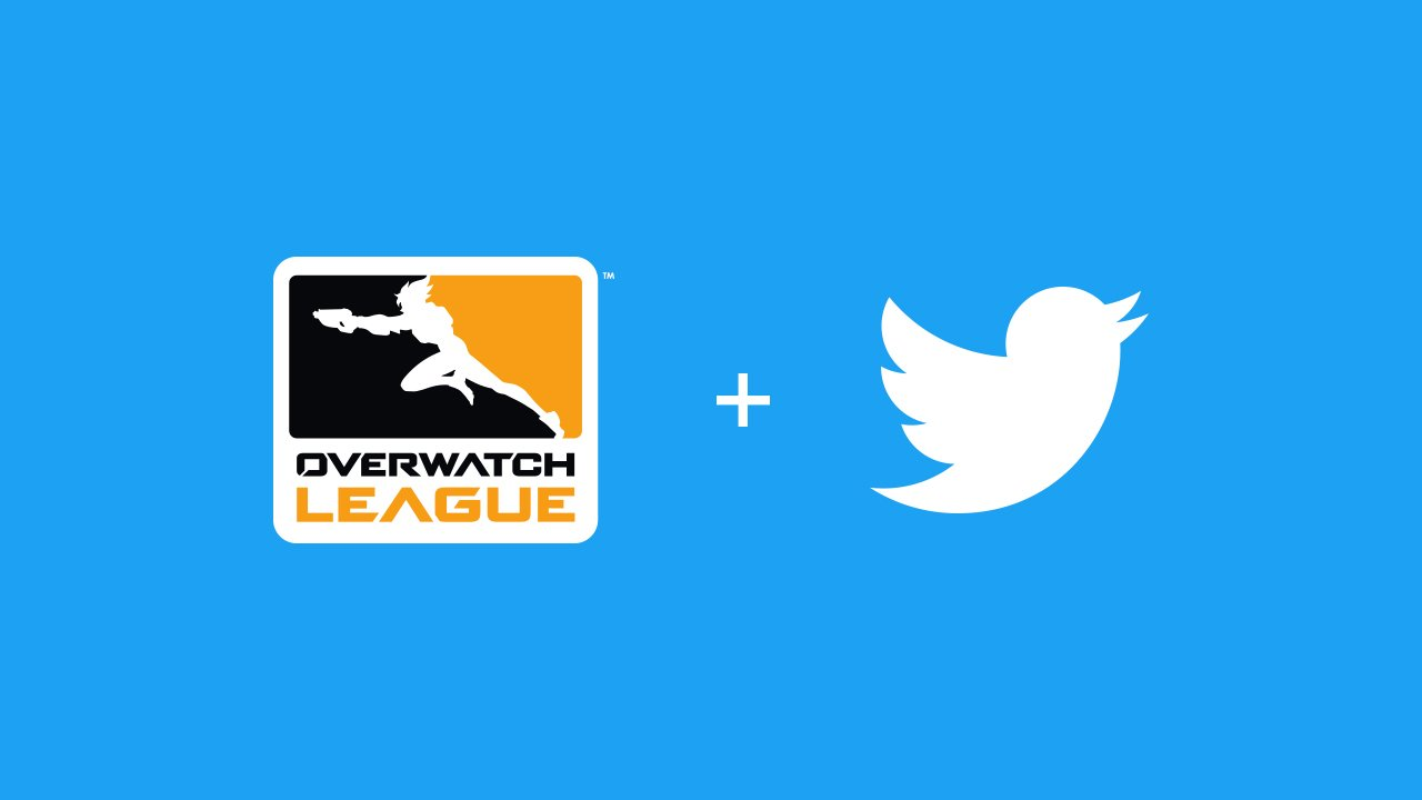 Overwatch League announces multiyear deal with Twitter