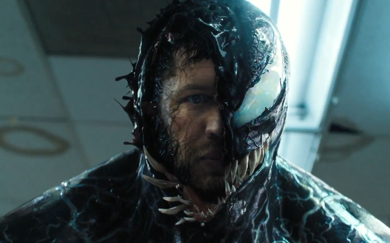 Tom Hardy's Venom towers above his foes in latest image, film will spark Sony's 'Universe of Marvel characters'