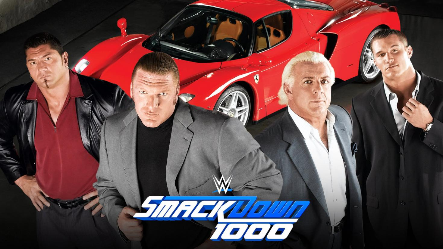 Evolution is reuniting at WWE SmackDown 1000