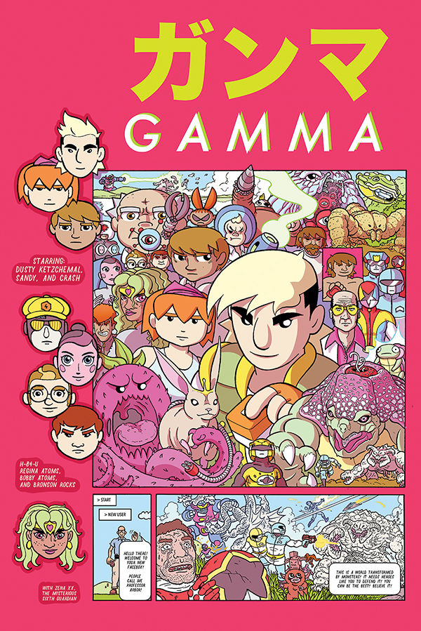 Gamma #1 review: All style, no substance