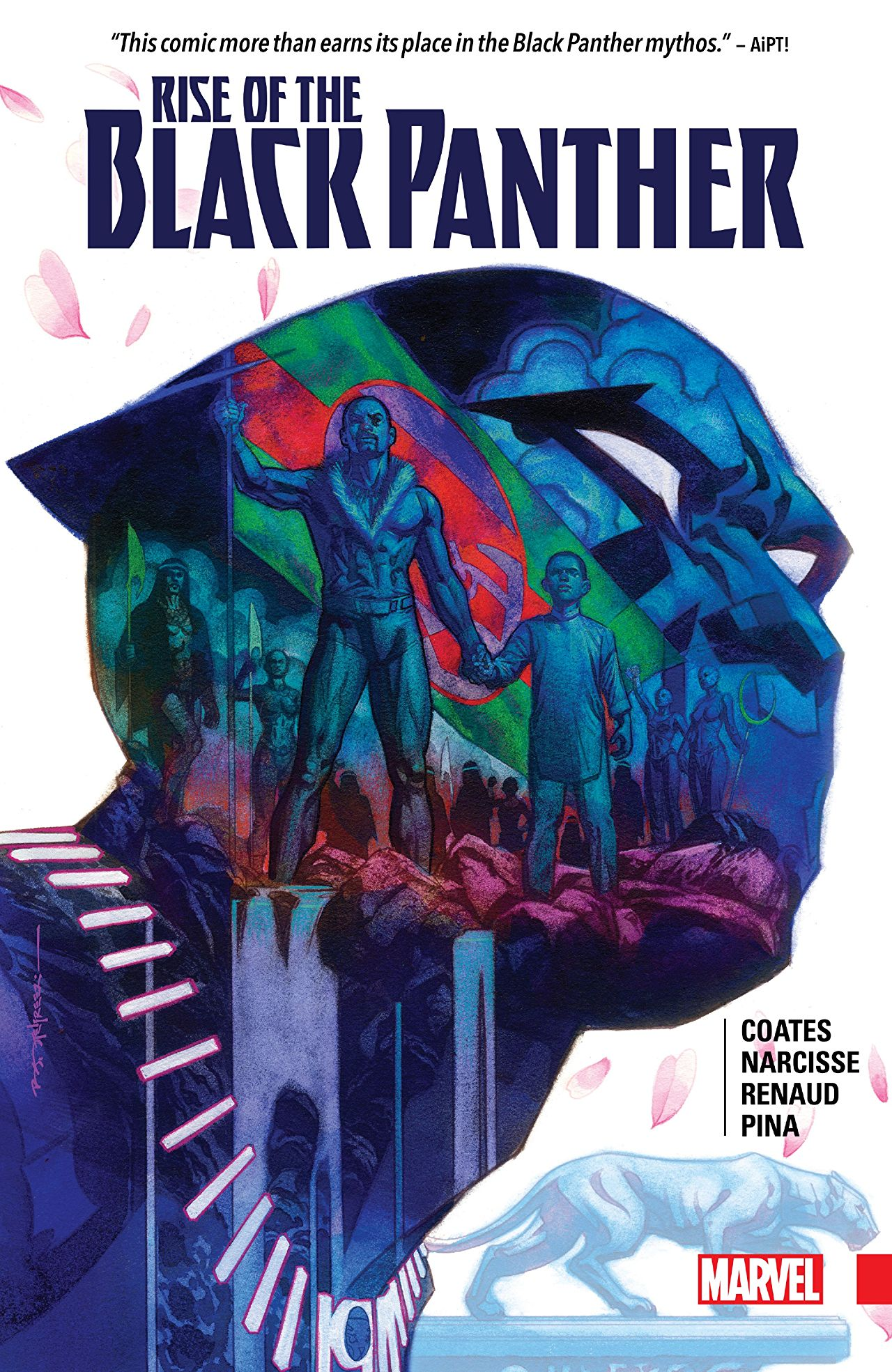 Narcisse and consulting writer Coates do a fantastic job with a fresh take on the Black Panther mythos.