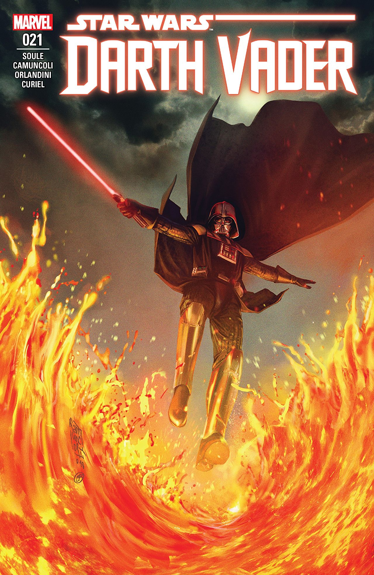 Darth Vader must fight against his demons and new ones.