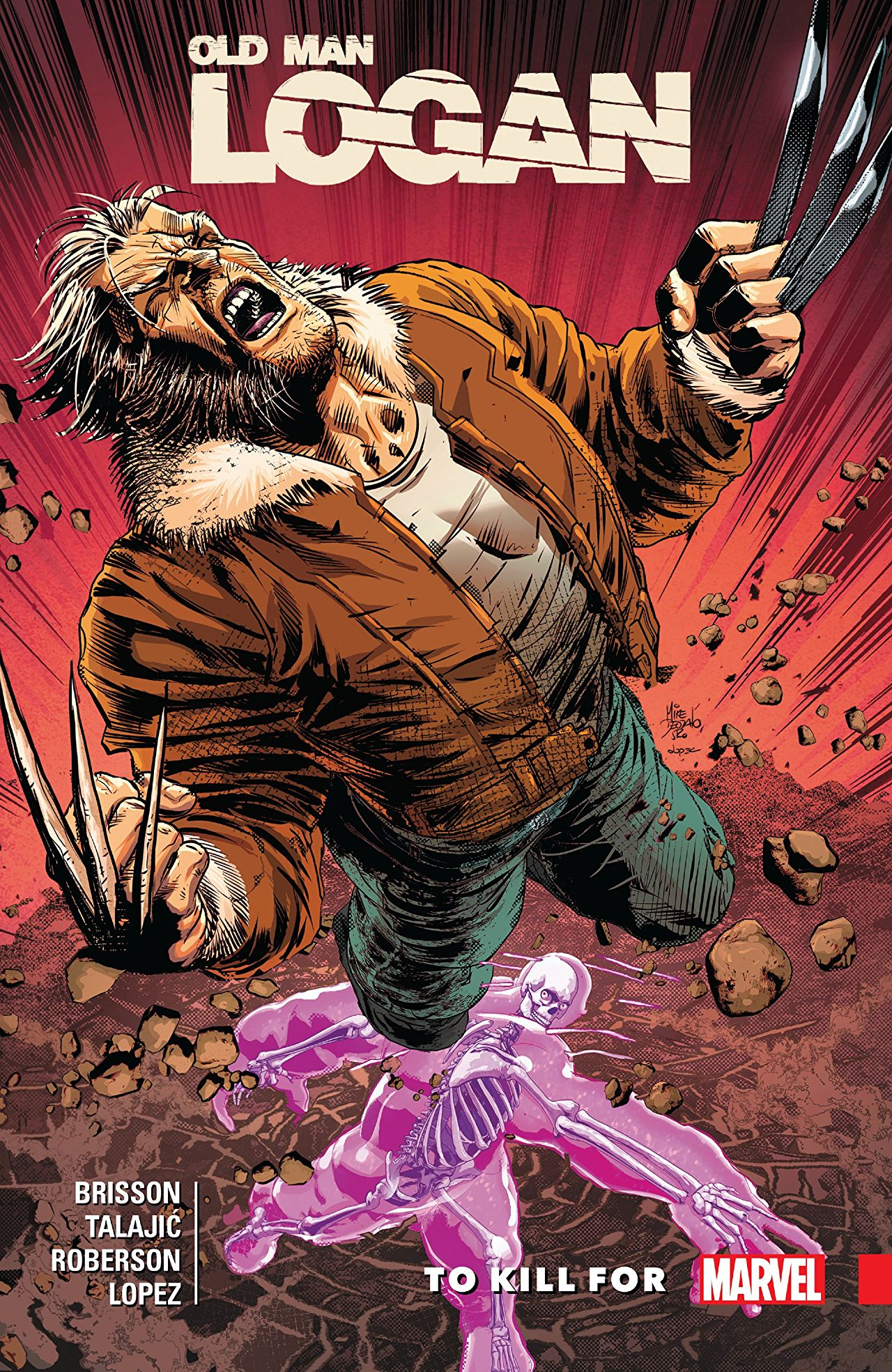 Dour as ever, Old Man Logan is back in this all new (but not uncanny) collection!