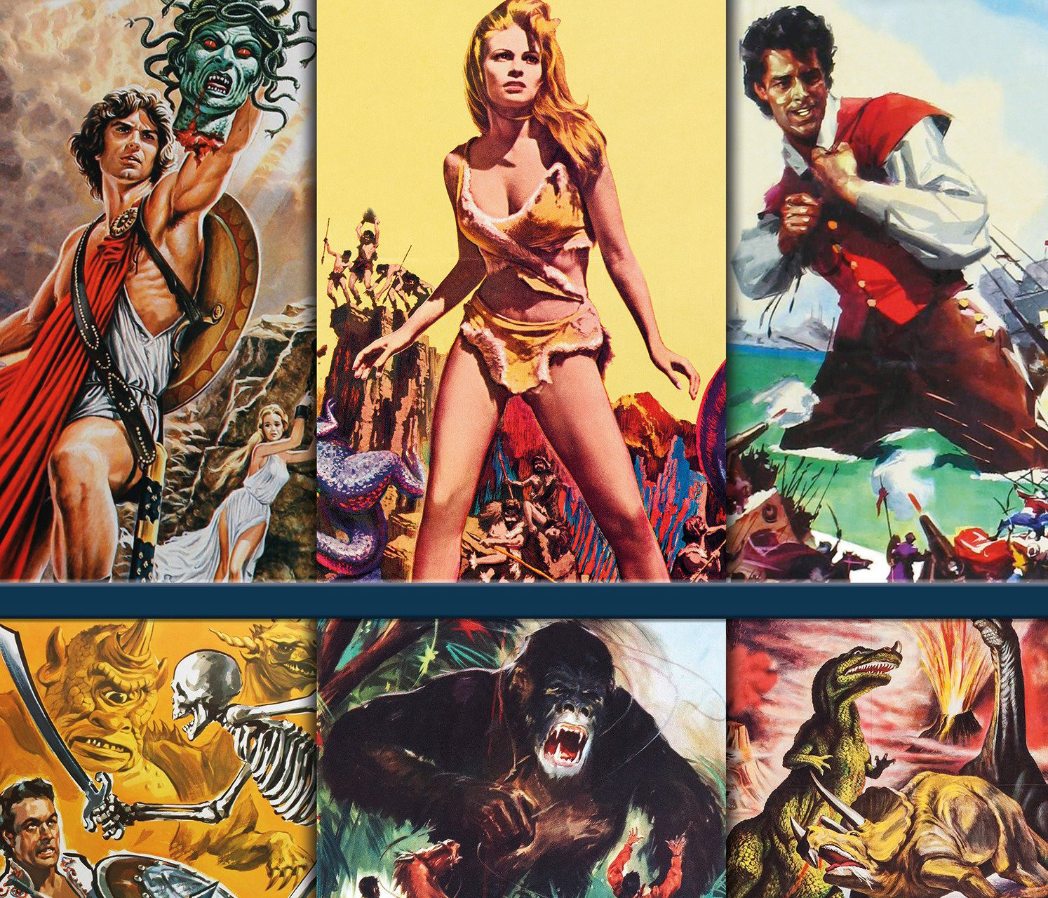 Harryhausen: The Movie Posters gives readers a slice of history
