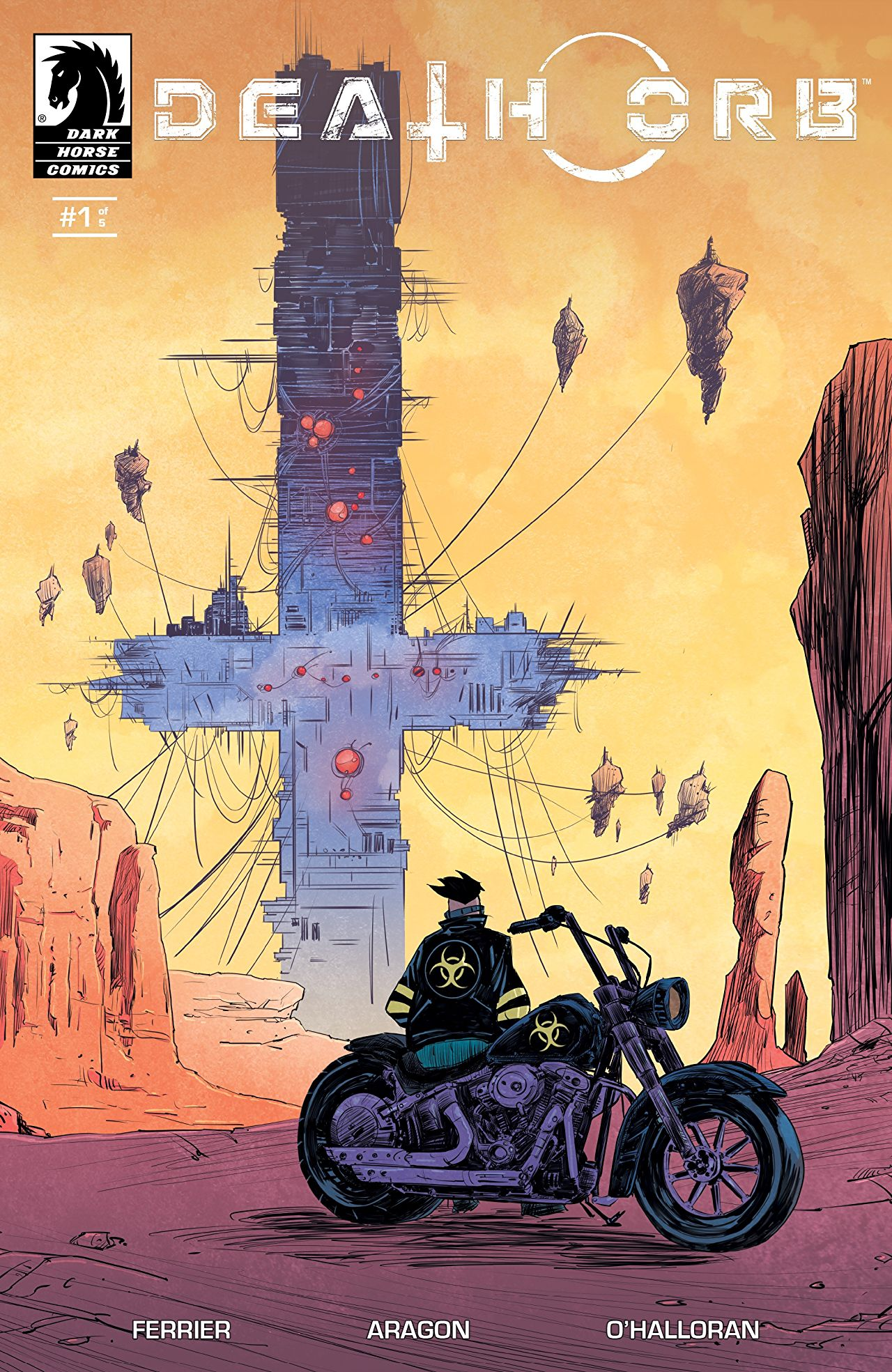 Death Orb #1 review: Spiky, but not sharp