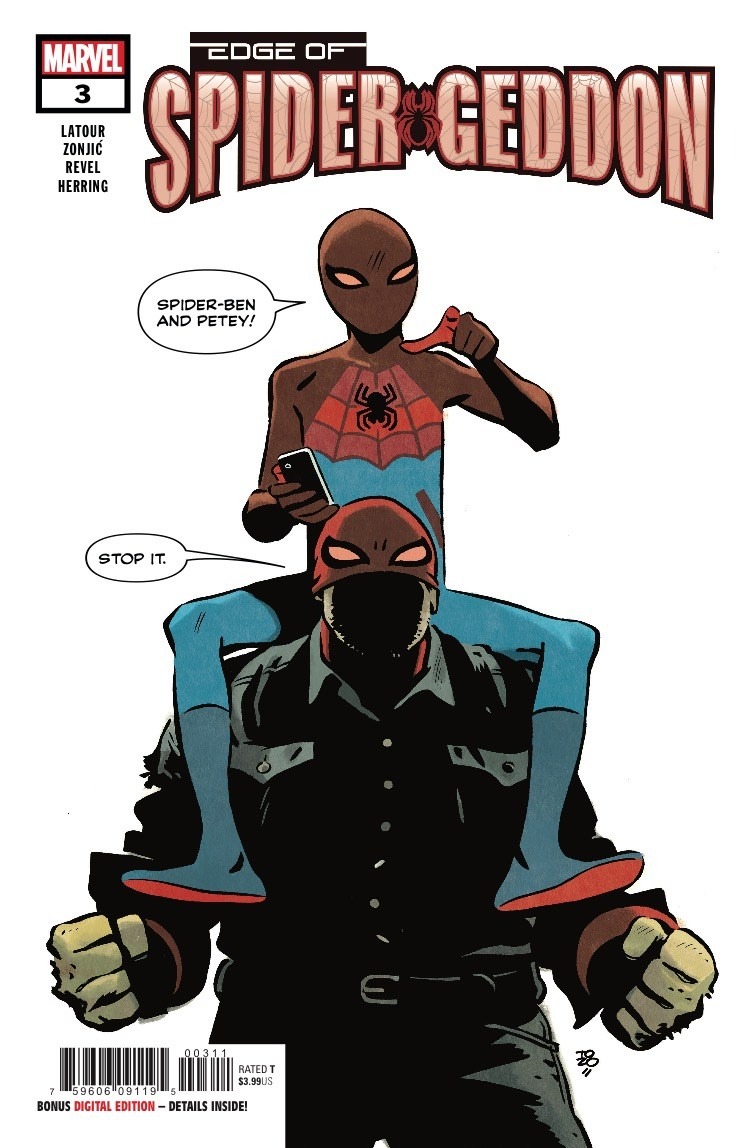 Edge of Spider-Geddon #3 Review