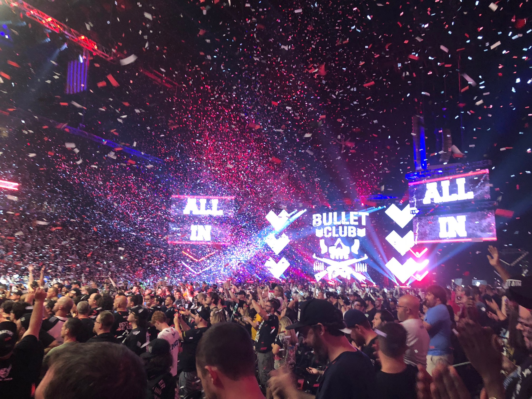 Six takeaways from Saturday's All In wrestling event