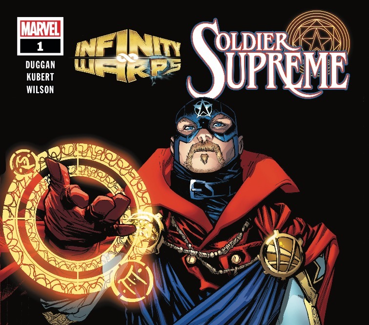 Stephen Rogers was unable to serve his country in World War II...until a secret government program tapping into arcane sorcery transformed him into the Soldier Supreme.