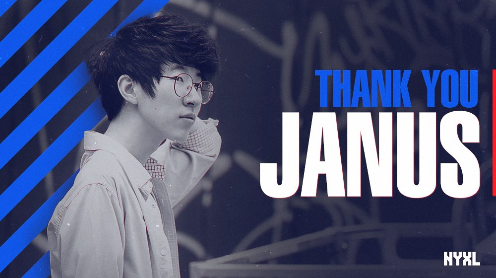 Overwatch League: New York Excelsior parts ways with Janus