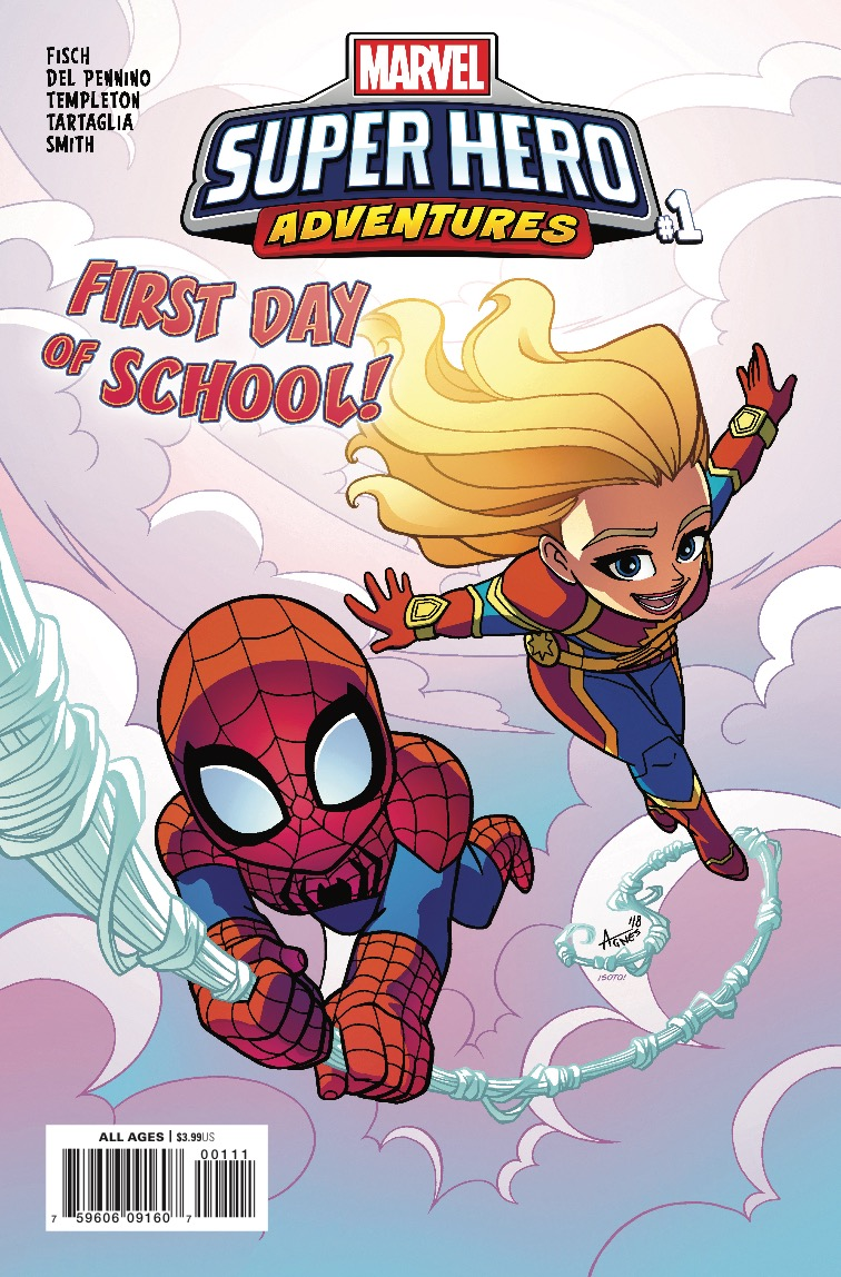 Marvel Preview: Marvel Super Hero Adventures: Captain Marvel - First Day Of School  #1