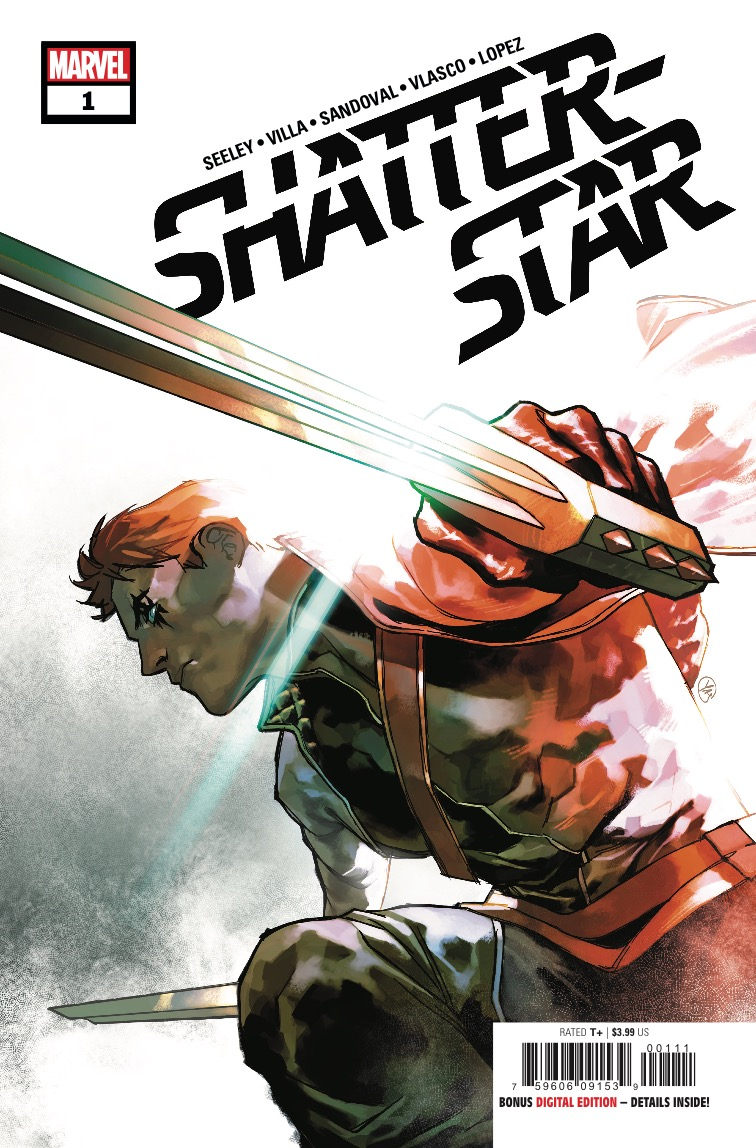A gladiator, a warrior, a hero...the man called Shatterstar has been many things, but one thing he's always been is deadly. He's not a man you want to cross or you'll learn that fact all too well. Walk back into the darkness with Shatterstar!