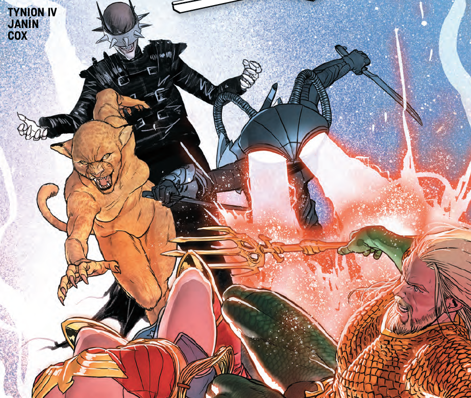 Justice League #8 review: Dark and exquisitely unnerving