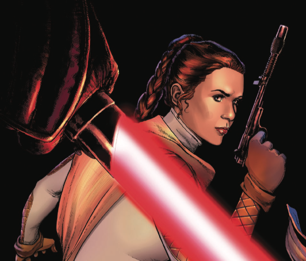 An iconic Rebel Alliance leader gets murdered by Darth Vader in Star Wars #54