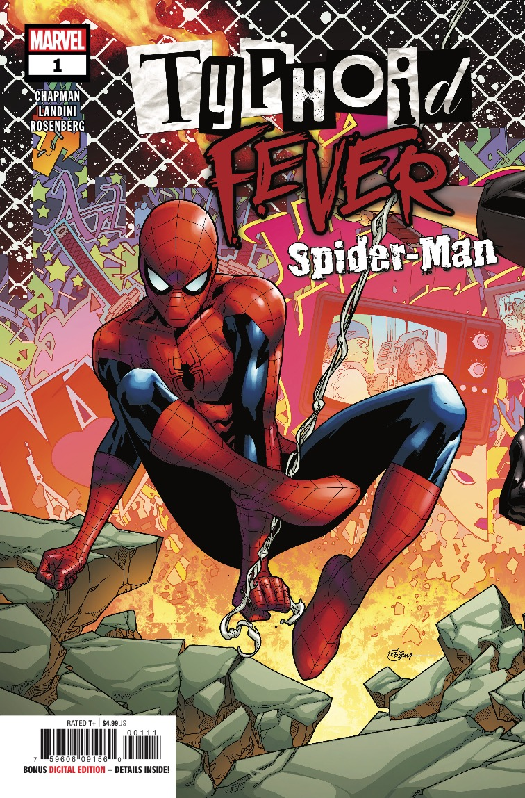 Marvel Preview: Typhoid Fever: Spider-Man #1