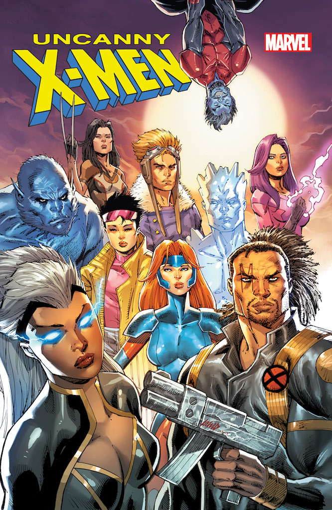 Rob Liefeld gets into the Uncanny X-Men #1 spirit with new variant cover reveal