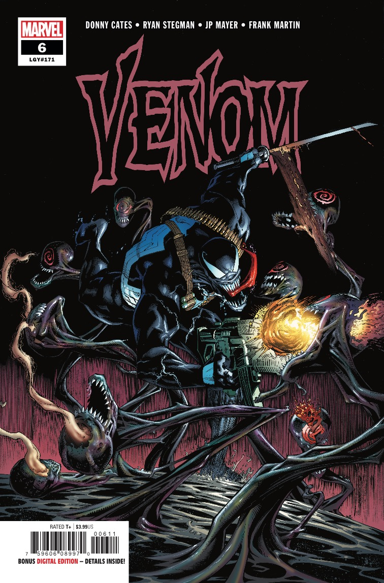 After a brief connection to the GOD-HOST, EDDIE and the VENOM symbiote have emerged with brand new powers!