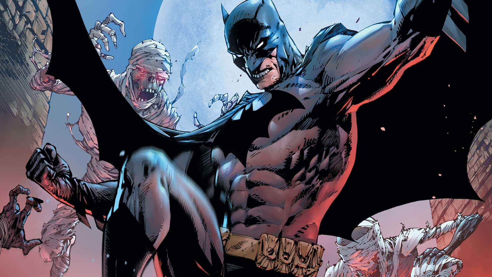 Batman and Nightwing face off against the deadly KGBeast.