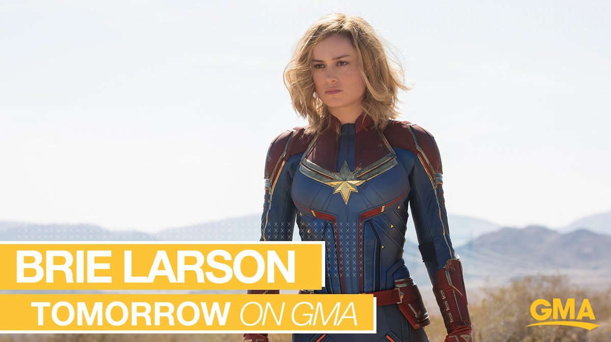 First full trailer for 'Captain Marvel' airs tomorrow on Good Morning America