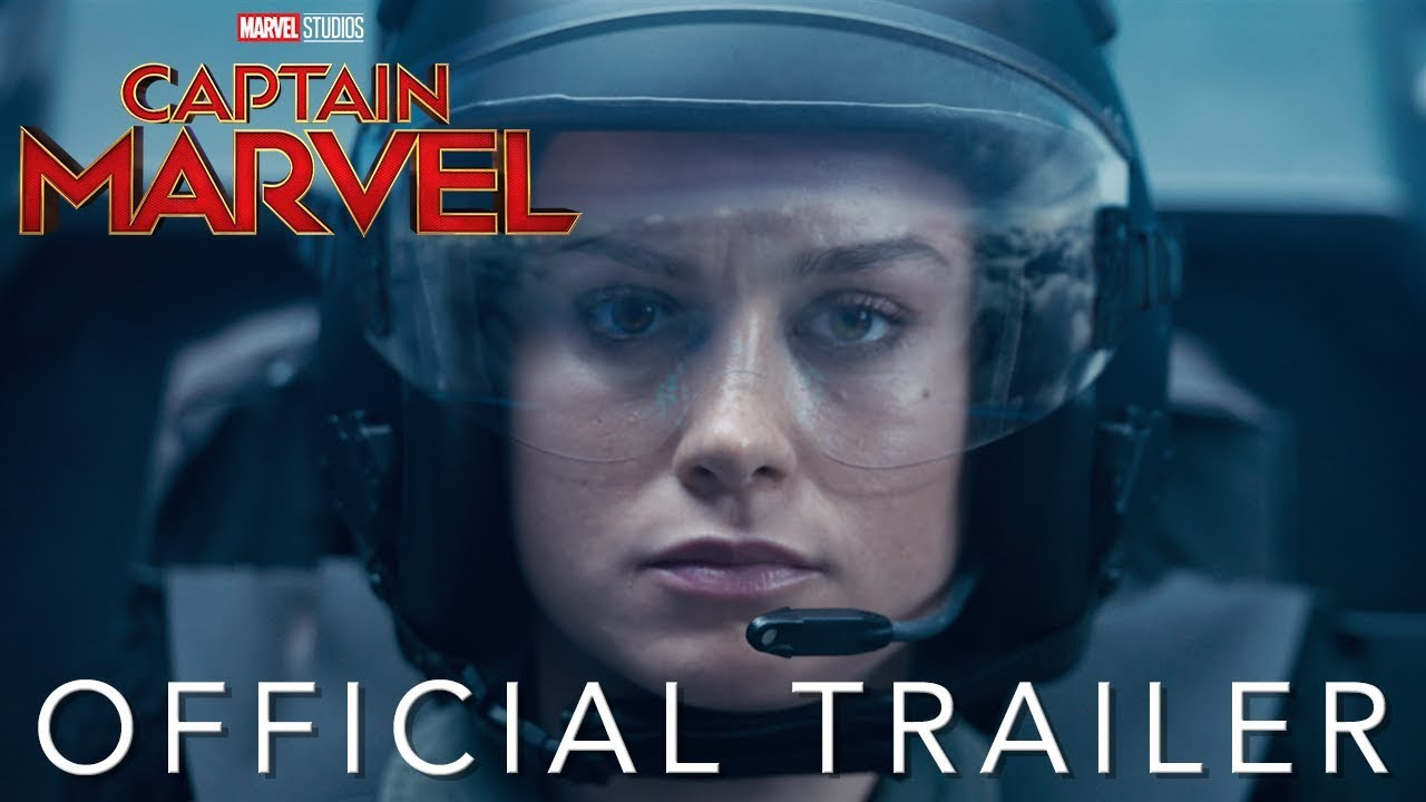 The first trailer for Captain Marvel is here!