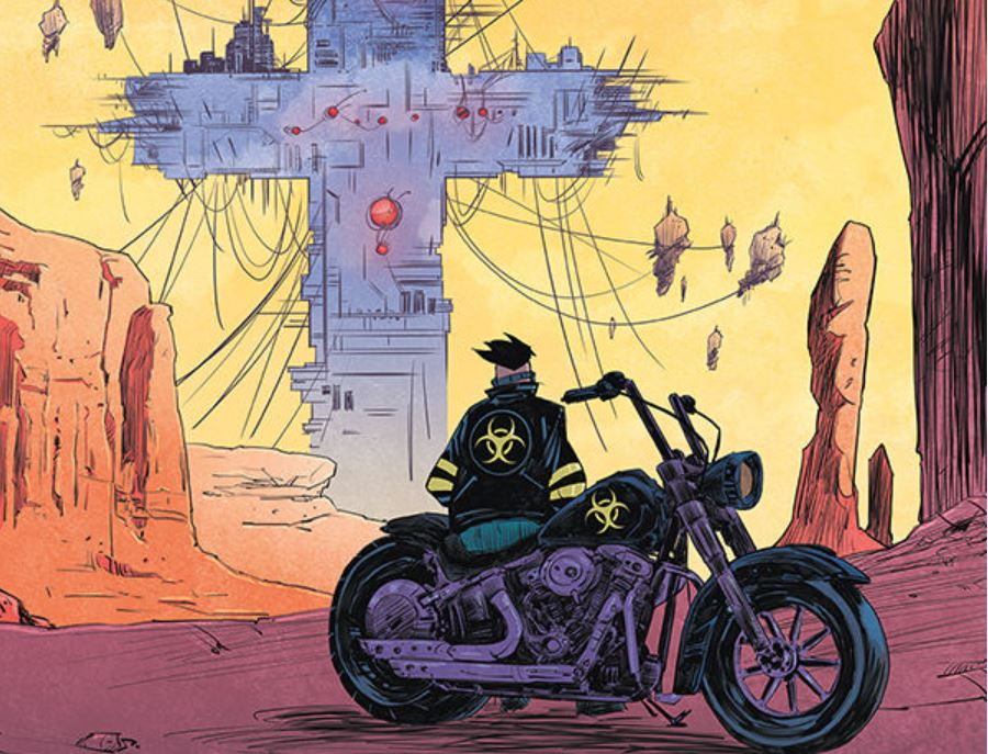 Ryan Ferrier, creator of 'Death Orb,' on its dirty, neon-soaked story and the most powerful weapon ever