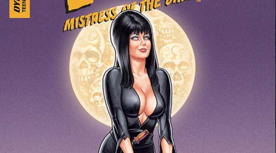Elvira meets up with Edgar Allan Poe and Vlad the Impaler is hot on her trail.