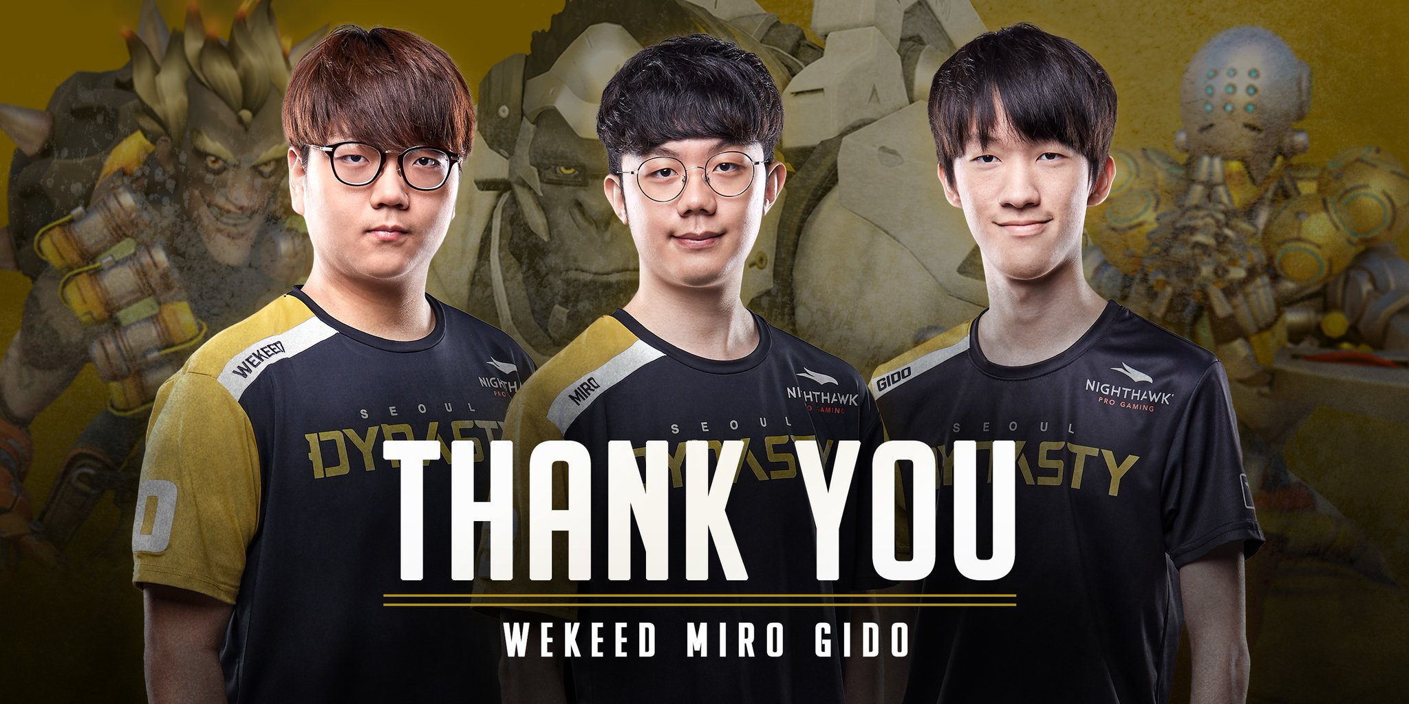Overwatch League: Seoul Dynasty parts ways with Miro, Gido and Wekeed