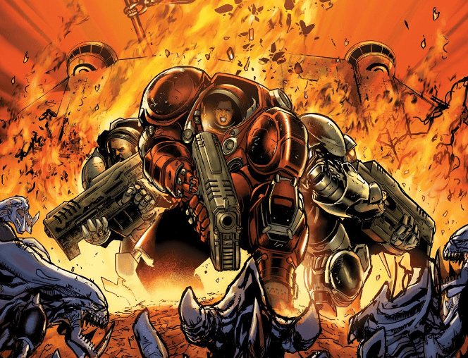 Blizzard and Dark Horse announce new Starcraft comic, 'Soldiers'