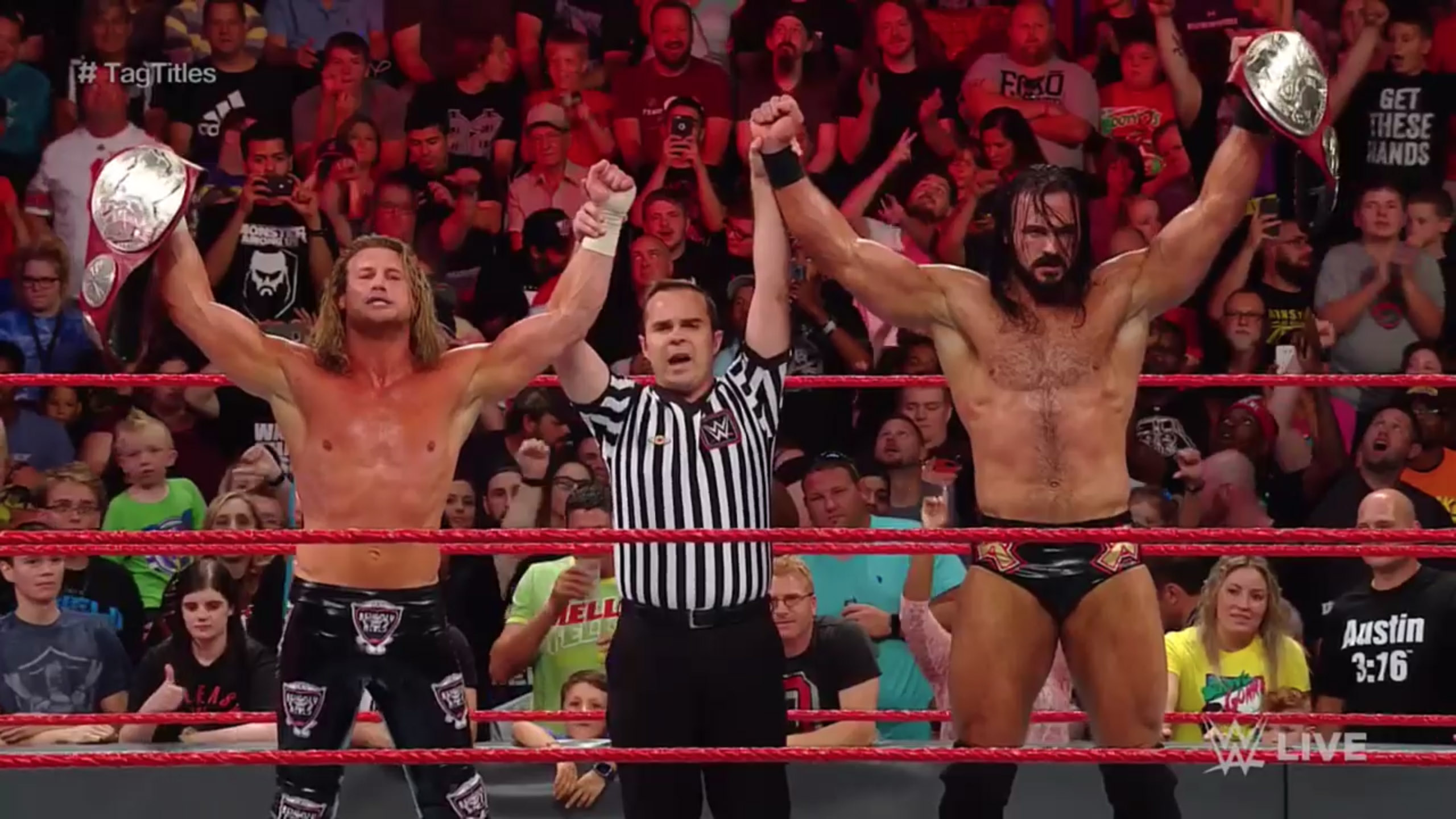 Dolph Ziggler and Drew McIntyre are the new WWE Raw Tag Team Champions
