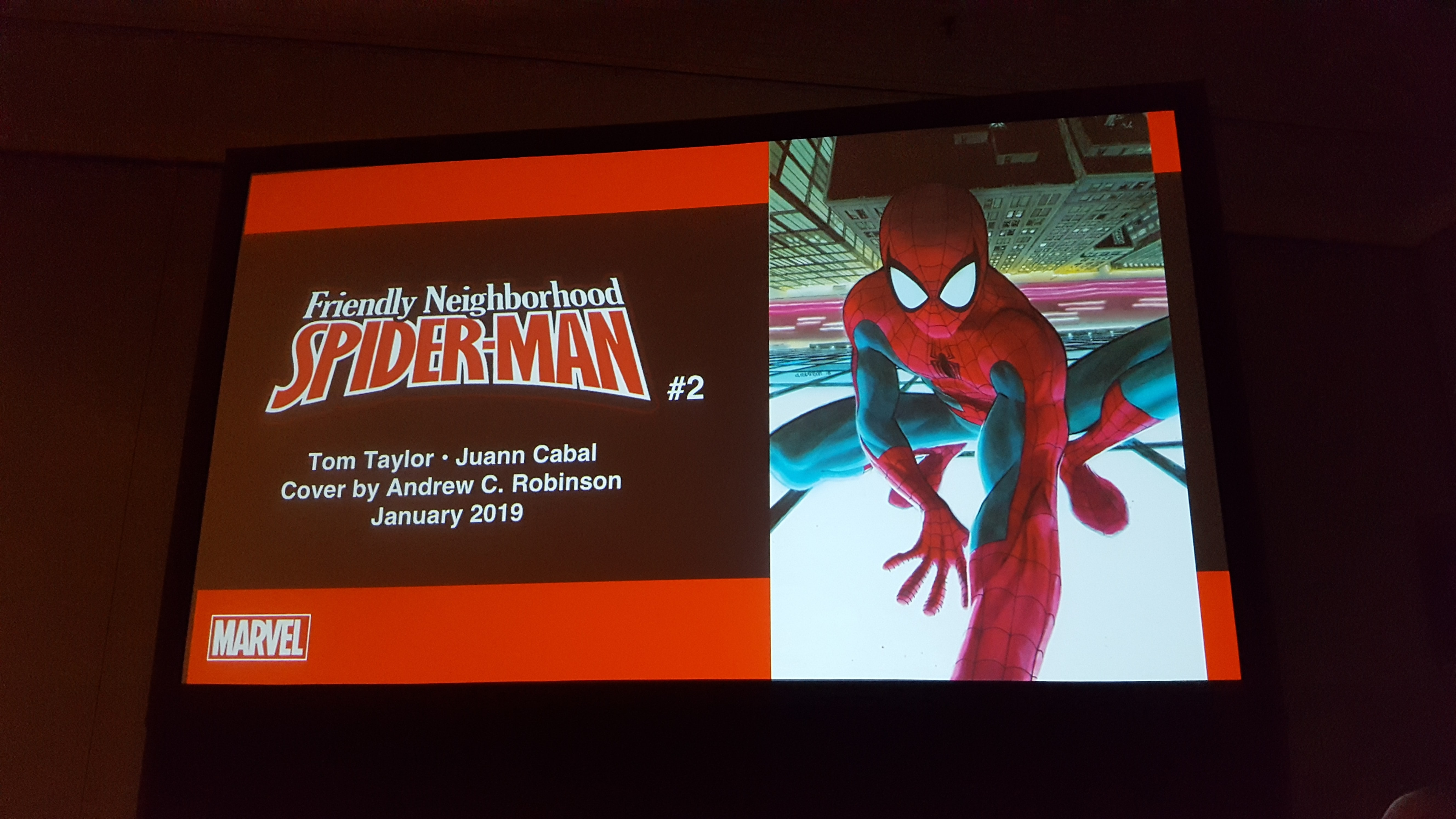 'Friendly Neighborhood Spider-Man' by Tom Taylor and Juan Cabal coming in January 2019 [NYCC 2018]