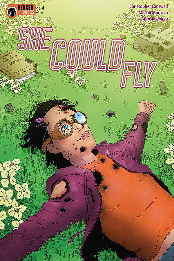She Could Fly #4 Review