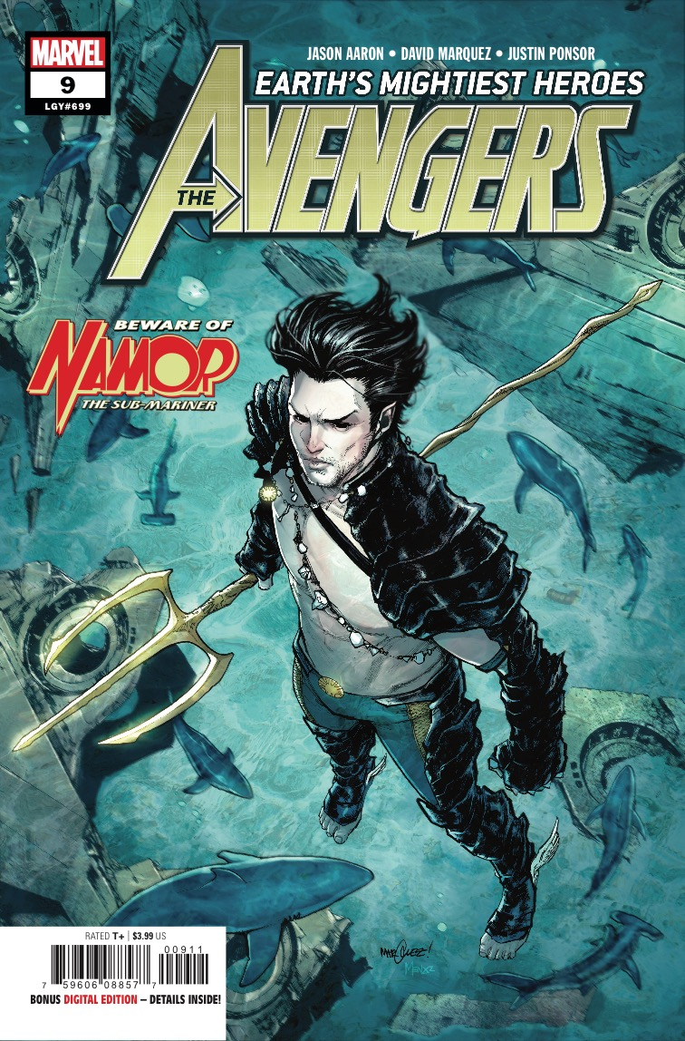 Avengers #9 review: You will never look at Namor the same again