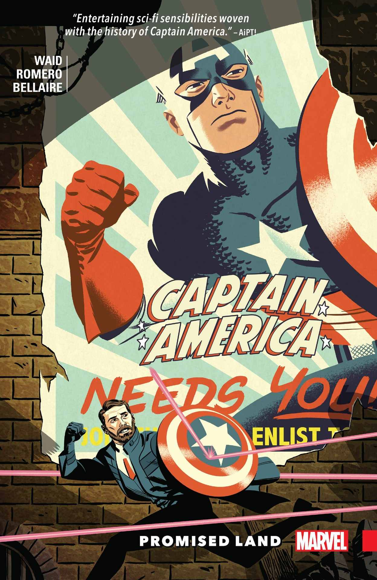 """Mark Waid's 'Captain America: Promised Land' explores the """"perfect"""" future of the Captain America world"""