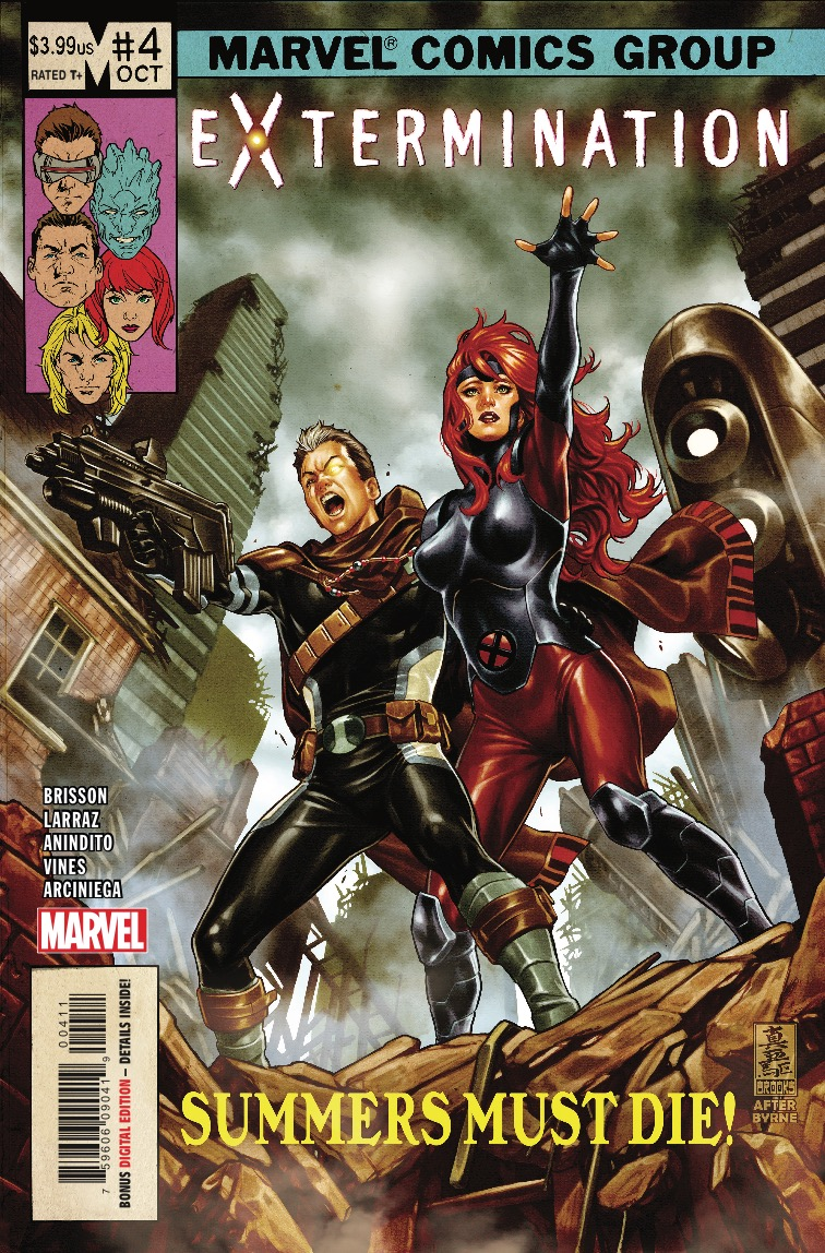 Extermination #4 Review